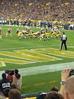 Two tickets Green Bay Packers vs Indianapolis Colts Tickets Nov. 6 2016 3:25pm