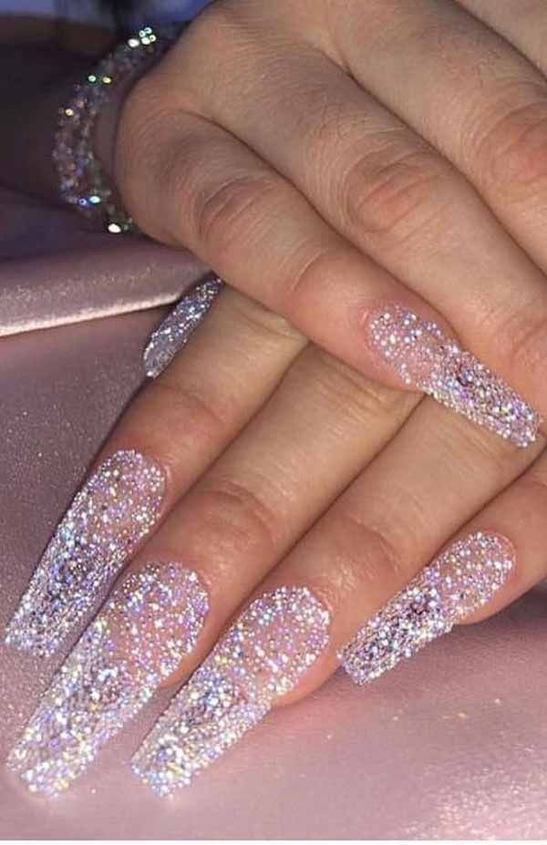 10 Most Beautiful Holidays Nail Ideas New Years 2020 Coffin
