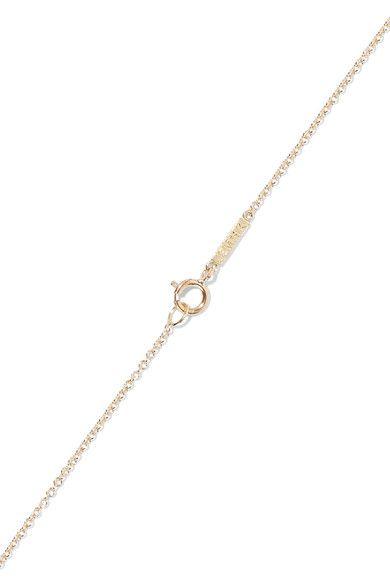 Jennifer Meyer - Evil Eye 18-karat Gold Multi-stone Necklace - one size