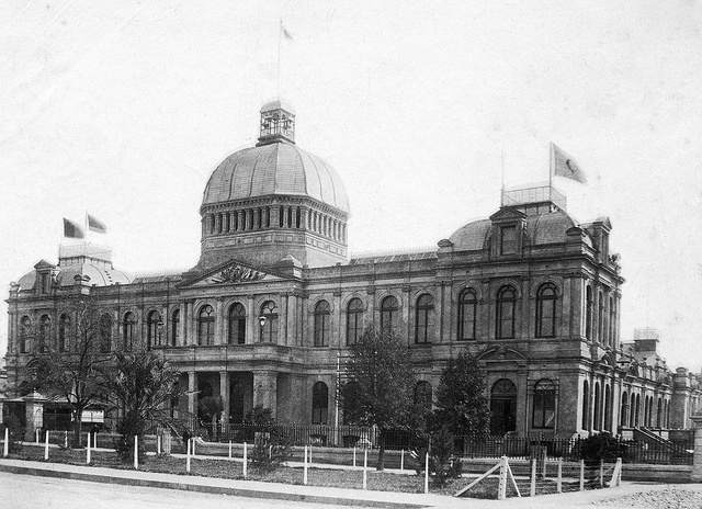 Exhibition Building, North Terrace, c.1887 by State Library of South Australia, via Flickr