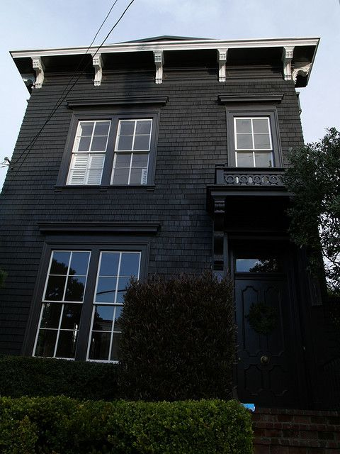 Stylish Home Black And White House Exterior Design House Exterior Design Gothic And House