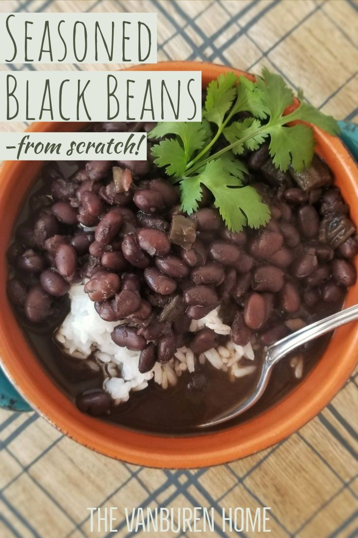 How to make cuban black beans from scratch