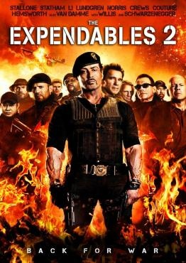 The Expendables 2. 6/1/13 I thought this was better than the first.