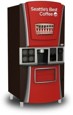 Starbucks and Coinstar to Blanket Country With Seattle's Best Coffee Vending Machines