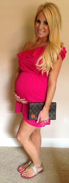 The Sweet Little Southern Charm by Tara Miller: All Things Pregnancy & Baby dress 31 weeks pregnant Pregnancy style