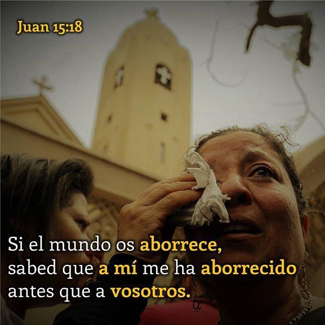 """Un mundo que aborrece  LEA: Juan 15:18, 19; 16:1-4  Muestras de odio y persecución en contra de los cristianos se escucha constantemente en las noticias. Un mundo completamente cegado y rebelde trata de callar a todo costo el sonido de la luz y la verdad de Dios. ¿De dónde viene tanto odio?  Jesucristo utilizó la palabra griega """"miseo"""" (μισέω, G3407) para hablar de este sentimiento; esta palabra significa aborrecer, odiar, detestar. Esta palabra puede ser usada para connotar tres…"""