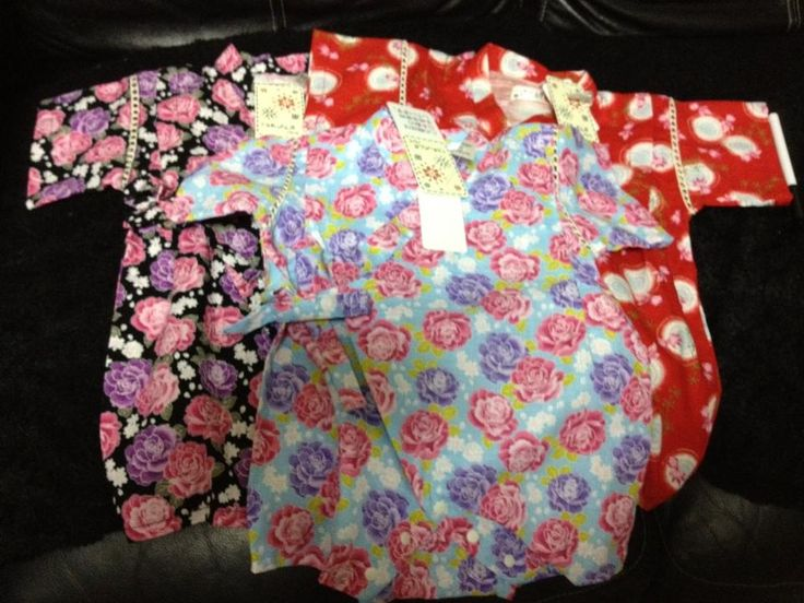 Yukata for triplets.. :)