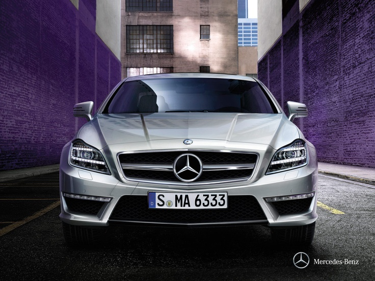 Mercedes-Benz CLS.  Sometimes, words are just not enough