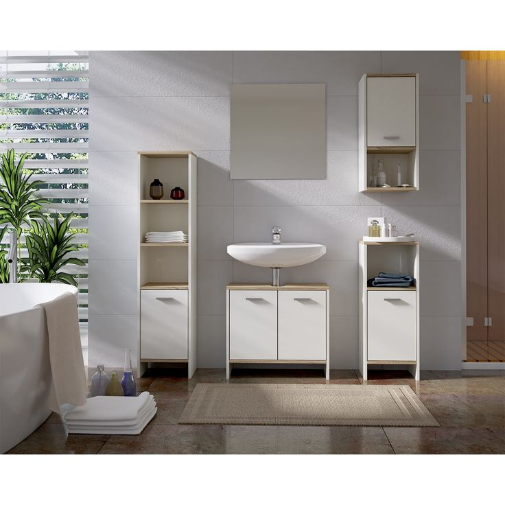 badezimmer hochschrank ch slagerijstok. Black Bedroom Furniture Sets. Home Design Ideas
