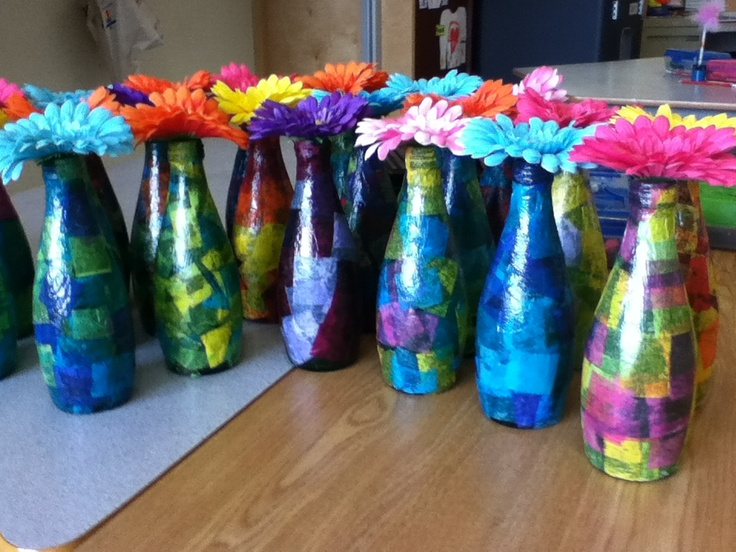 17 best images about mother 39 s day crafts ideas on for Recycled water bottle crafts for kids