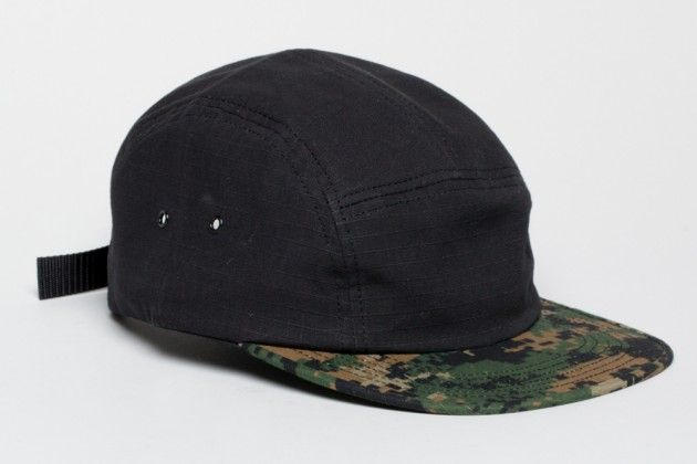 Norse Projects Rip Stop 5-Panel Caps