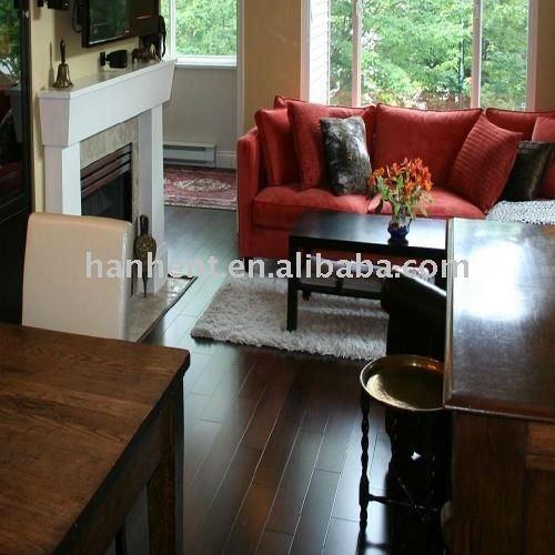 Wood grain vinyl flooring forbo marmoleum floors for Christine huve interior designs