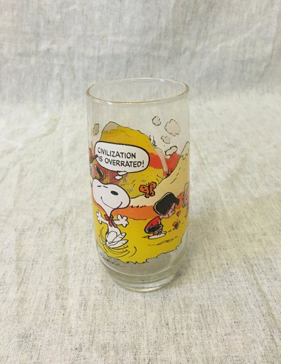 Vintage Camp Snoopy Collection McDonalds by AmericasMainStreet