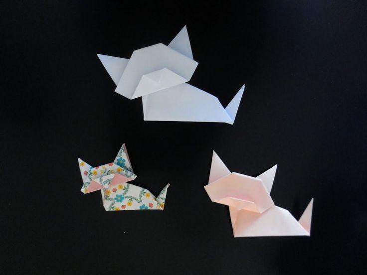 les 25 meilleures idées de la catégorie chat origami sur pinterest
