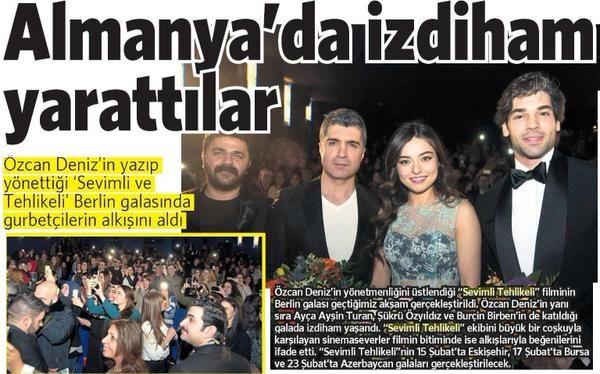ALMANYA'DA İZDİHAM YARATTILAR / Vatan (14.02.2015)