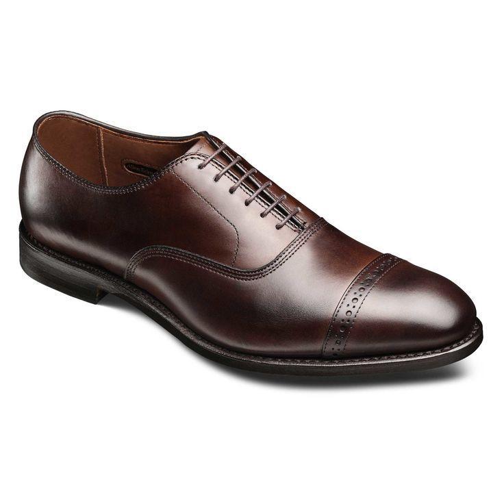 Allen Edmonds Park Avenue Black Leather Oxford Shoes Men's 16 AA