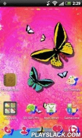 Butterfly GO Launcher Theme  Android App - playslack.com ,  GO Launcher EX Theme Butterfly is een gloednieuw en stijlvol thema. Dit thema is voor alle fans van de mooie en warme kleuren die ons herinneren aan het wonder van de komende lente. Thema introduceert positieve gevoelens tijdens de winter, koude dagen. Het belangrijkste thema van dit jaar is zoet vlinders met mooie kleuren. Ze symboliseren liefde veer die langzaam vervult ons allemaal. Er zijn 4 gratis wallpapers verdeeld over de…