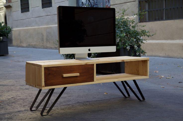 73 best muebles hechos con palets images - Palet reciclado muebles ...