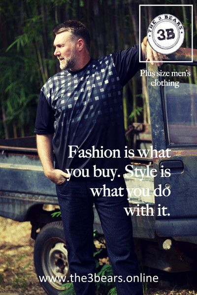 Fashion is what you buy. Style is what you do with it! – The 3Bears