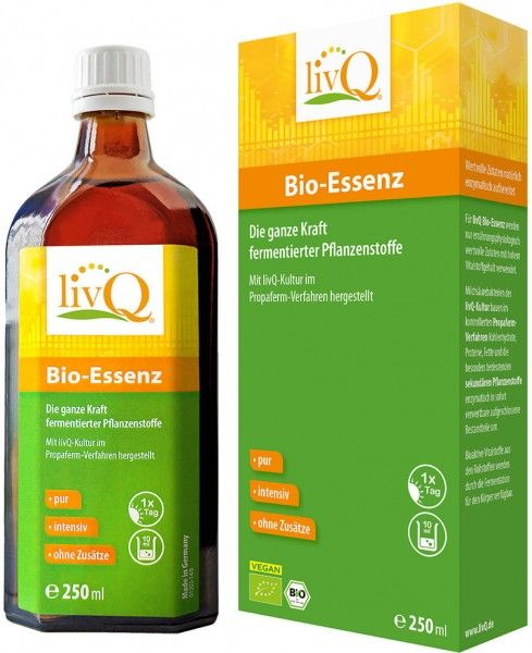LivQ Bio-Essenz - Bio - 250ml