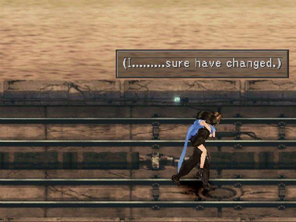 Squall Leonhart - Final Fantasy VIII - Checkpoint