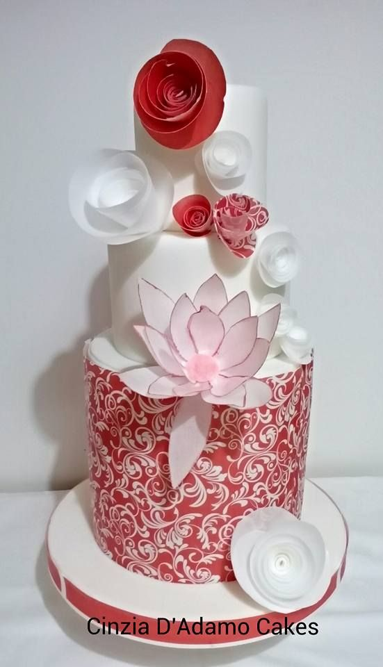 Cake Decorations Flowers Uk : 17 Best images about Wafer Paper Decorations on Pinterest ...