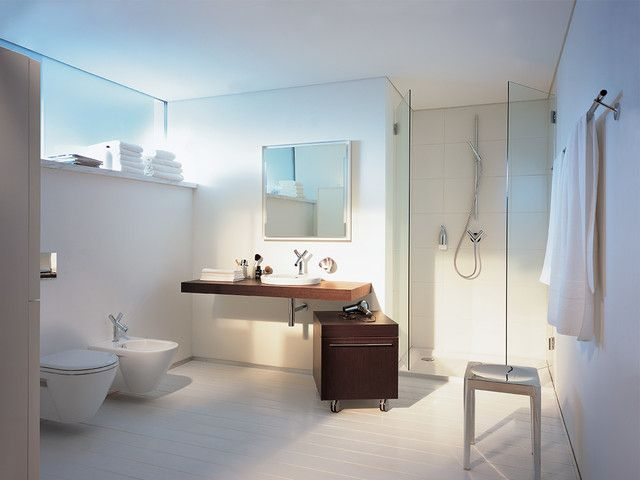 A subtle style and elegant look with Axor #LuxuryInteriors #ModernLiving #Bathroom #LuxuryHomes