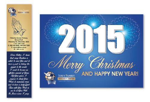 Little Blackbird Design Studio: #Bookmark & #Christmas #Card #Design for Jesus Fam...