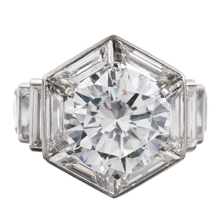 Incredible Diamond Ring by Van Cleef & Arpels