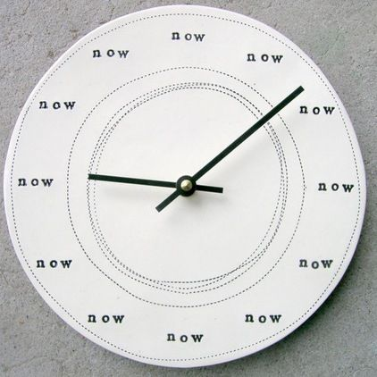 Contemporary Kids Clocks by Etsy