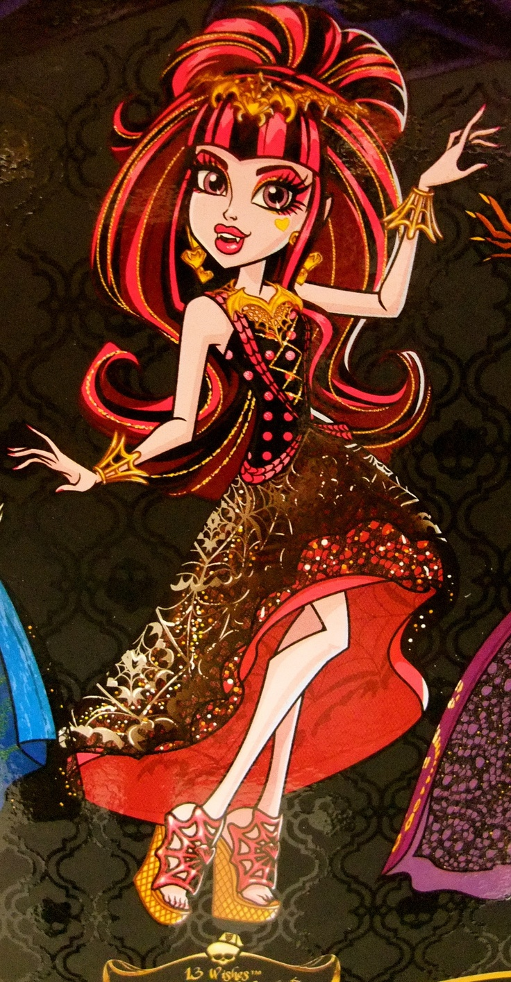 13 wishes draculaura monster high box and movie art pinterest beautiful the o 39 jays and - Image monster high ...