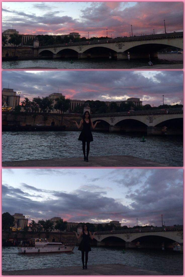 Oh.. Where's the boat?  La Seine. By: Carolina Serrano