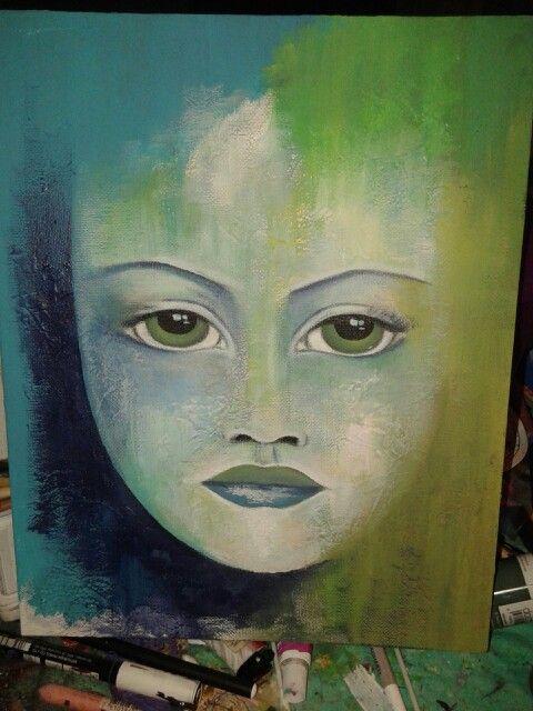 Cool colors work in progress - MUST ART
