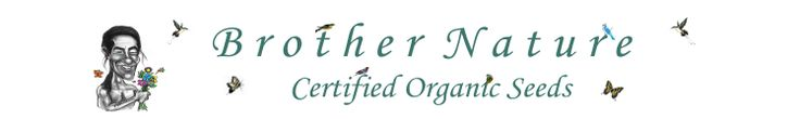 Brother Nature Organic Seeds | Over 300 Types of Organic Heirloom Vegetable Herb Annual and Perennial Seeds.