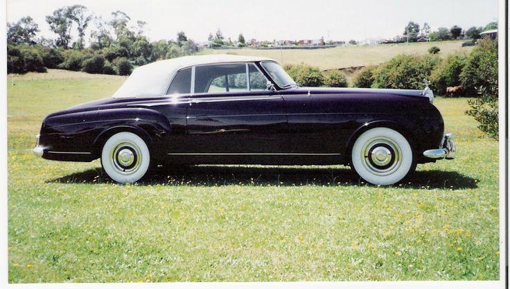 1957 Rolls Royce convertable