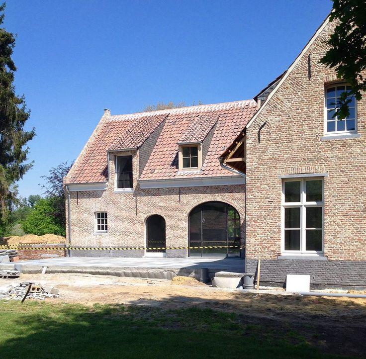 25 beste idee n over bakstenen huis exterieurs op pinterest bakstenen huis sierrand - Zink oude keramiek ...