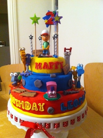 Handy Manny cake By ALMC on CakeCentral.com