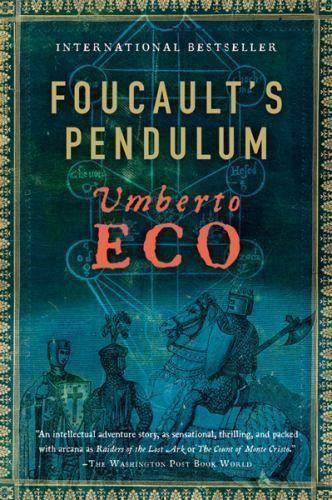 Foucault's Pendulum Umberto Eco Soft Cover Classic Book Novel BRAND NEW