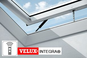VELUX CVP S02H INTEGRA Ventilated Flat Roof Window, Opaque Cover - Kens Yard