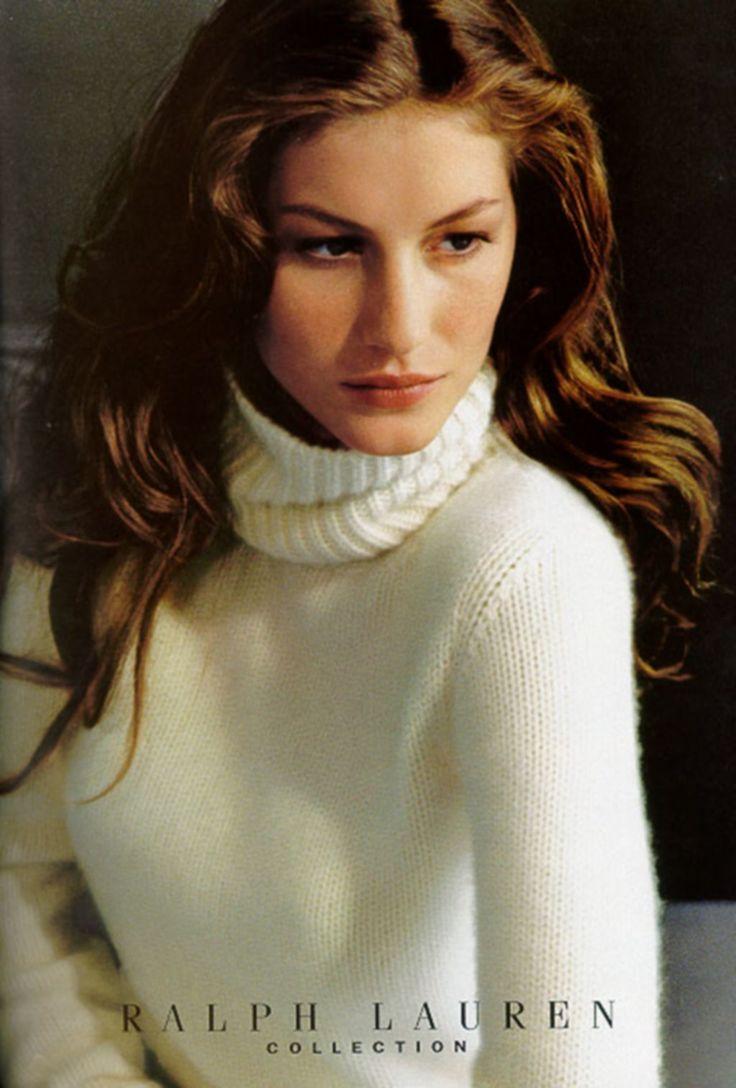 Gisele Bundchen by Bruce Weberfor Ralph Lauren Fall/Winter 1999