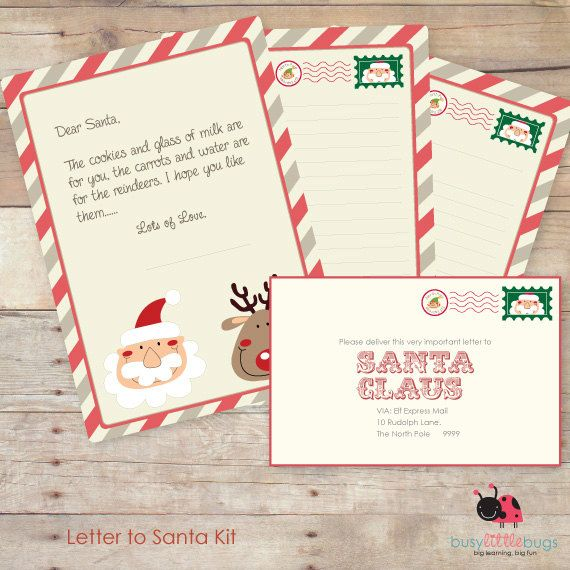 73 best christmas santa baby images on pinterest la la la merry our letter to santa kit is included in our christmas planner spiritdancerdesigns Images