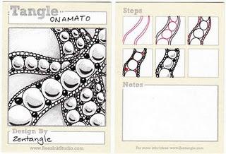 onamato -original zentangle pattern