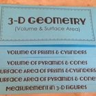 Math Foldable (Volume & Surface Area of 3-D Figures)
