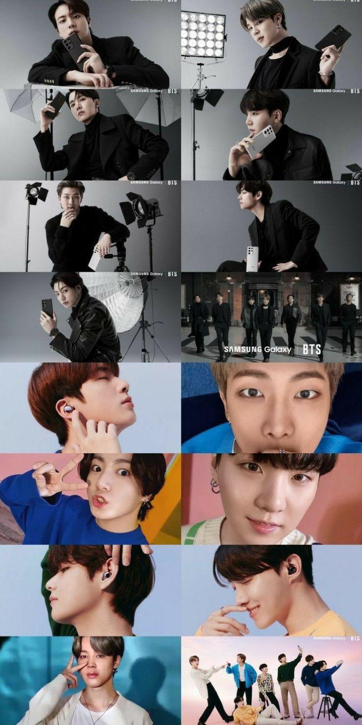 Bts X Samsung In 2021 Bts Boys Bts Photo Foto Bts Bts wallpaper 2021 samsung
