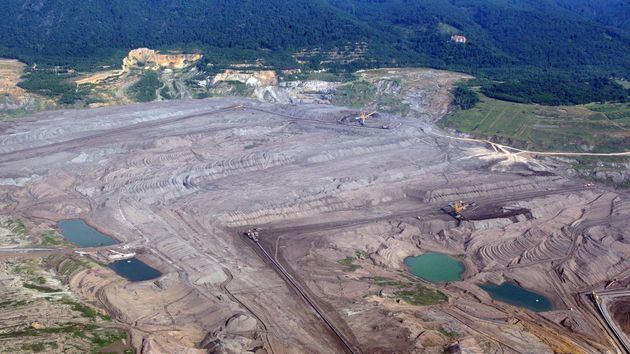 Důl ČSA.