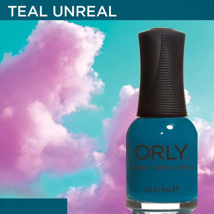 Teal Unreal from #ORLYSurreal. Available now at http://www.orlybeauty.com/nail-color/nail-color-by-collection/surreal-5.html