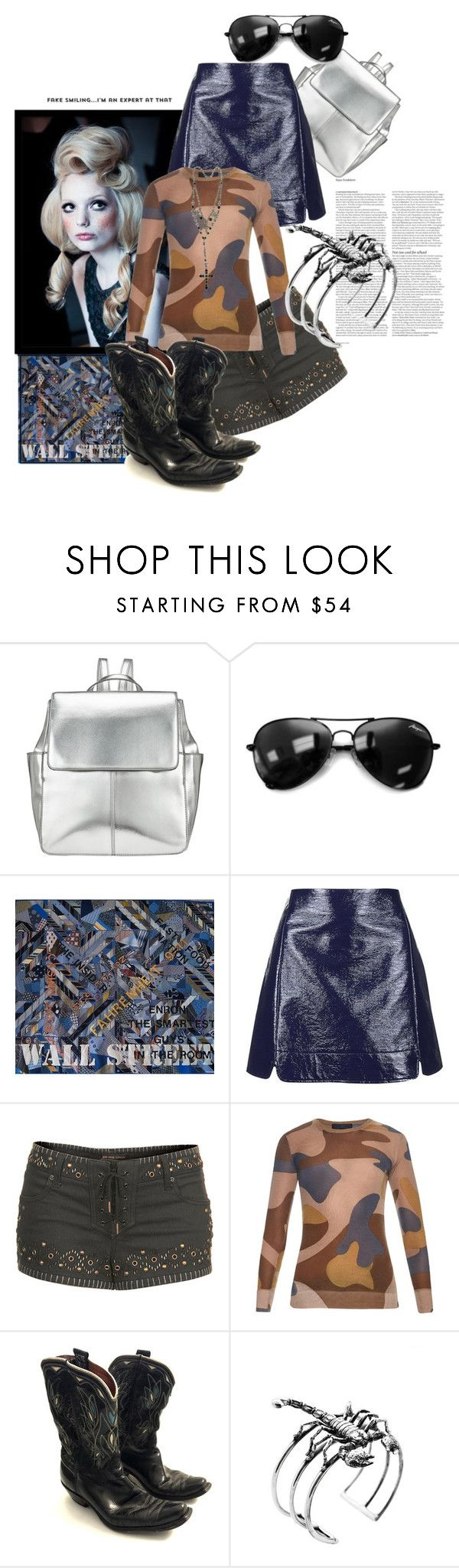 """""""Fake....Expert At That!"""" by the-house-of-kasin ❤ liked on Polyvore featuring Kin by John Lewis, Topshop, Burberry, ASOS, Glenda López, Forever 21, women's clothing, women's fashion, women and female"""