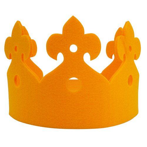 Corona de fieltro para disfraz                                                                                                                                                                                 Más