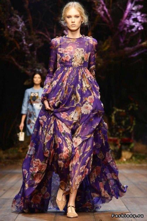 Dolce & Gabbana Осень-Зима 2014-2015 / новая осенне зимняя dolge gabbana женская
