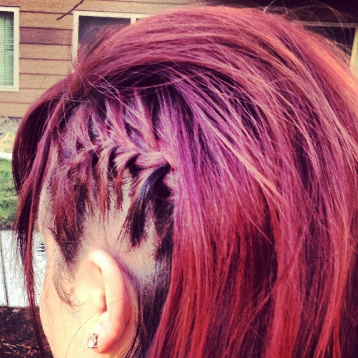 the braid blog.: faux shaved head. #braid #style #hair @Felicia Frank